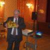 A 70 éves dr. Lustyik György az Ambassador Club Pécs  tagjaival ünnepelte születésnapját