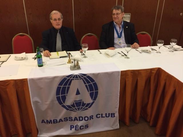 Ambassador Club Pécs - Klubnap 2016.02.04.