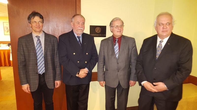 Ambassador Club Pécs: Elnökség 2016.
