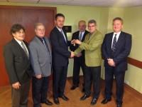 Ambassador Club Pécs . Beszámoló- és tisztújító Közgyűlés 2014-01-08