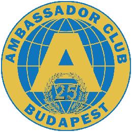 Ambassador Club Budapest - 25. év - logó