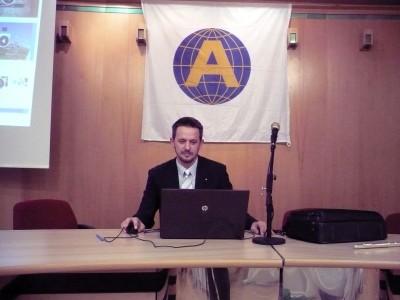 Ambassador Club Pécs - dr. Kondor Tamás elnök úr