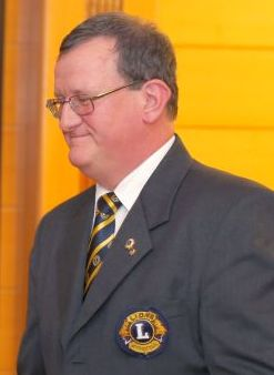 Ambassador Club Pécs 20 év - Baán Béla, Első Pécsi Lions Klub elnöke (Kovács Tamás fotó)