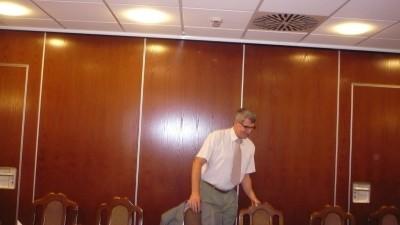 Ambassador Club Pécs - Kovács Tibor elnök úr helyfoglalása