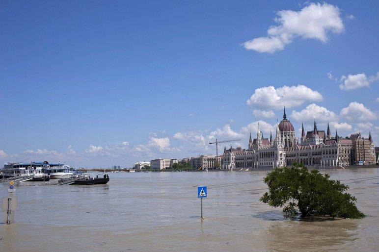 Budapesti dunai árvíz 2013.