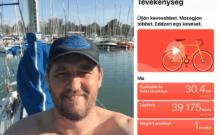 Ambassador Club Pécs - Horváth Arszlán körbegyalogolta a Balatont 2018-05-12