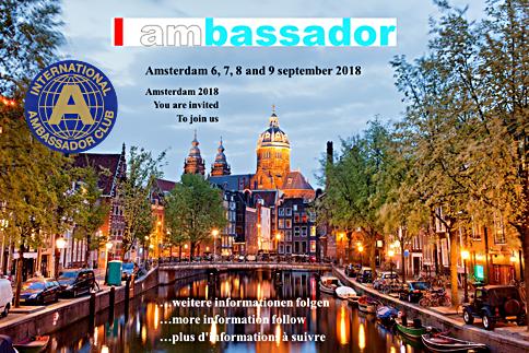 IAC DM 2018. Amsterdam