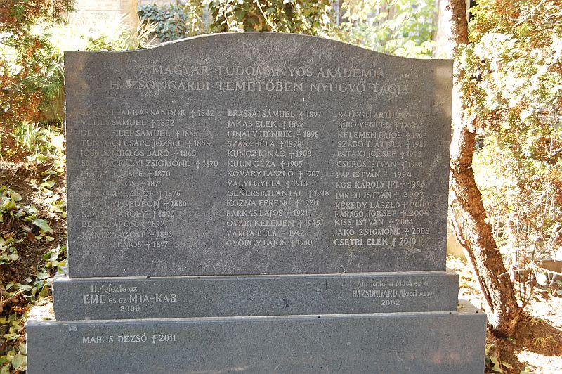 Ambassador Club Budapest támogatás - Kolozsvár, Házsongárdi temető