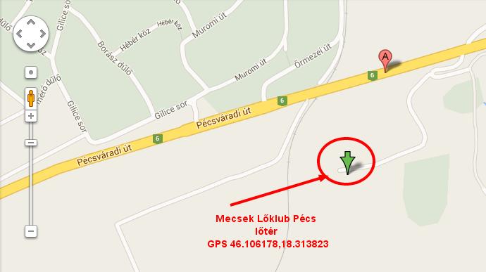 Mecsek Lőklub Pécs - lőtér
