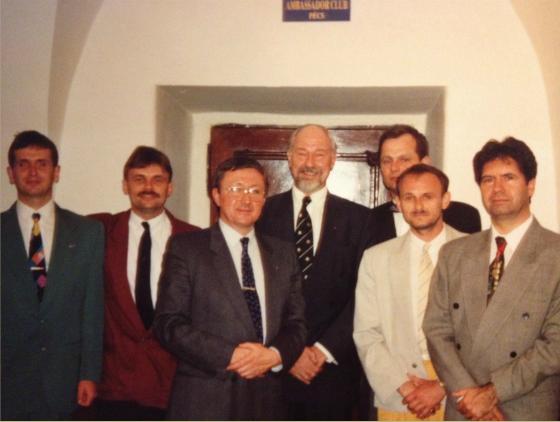 Ambassador Club Pécs - 20 év 1 közösség, az alakulás 1993-ban