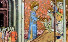 Sarolt fejedelemasszony aranykoronát kap István születésekor