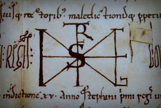 Szent István király eredeti okirat