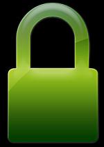 Biztonságos weboldal - zöld lakat jel az Ambassador Club Magyarország honlapjánál
