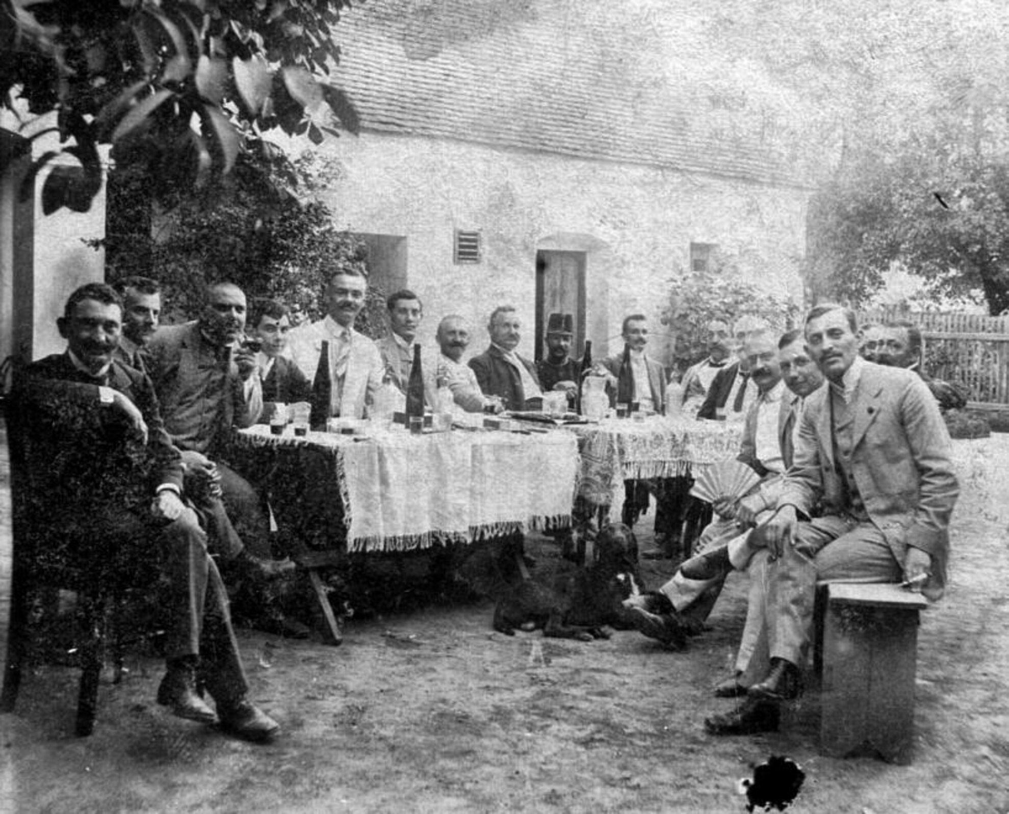 Kéhli Kerthelyiség az 1920-as években Fotó: Forgó Andrea / Fortepan