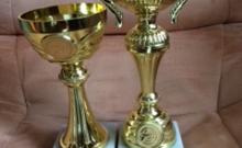 Ambassador Club lőverseny 2018. - a győztesek serlegei