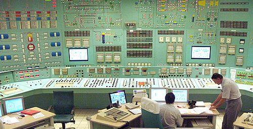 Paksi Atomerőmű vezérlőterem